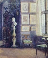 interior fra frederiksborg slot, frederik vis sal by frida bugge