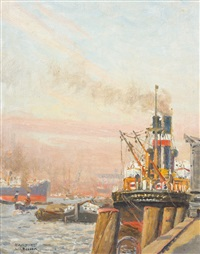 hamburg by julius christian rehder