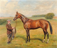 the racehorse scherzo, 5 years by alfred grenfell haigh