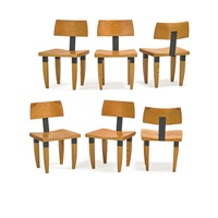 dining chairs (set of 6) by chris lehrecke