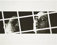 capture (from seven monoprints) by john hilliard