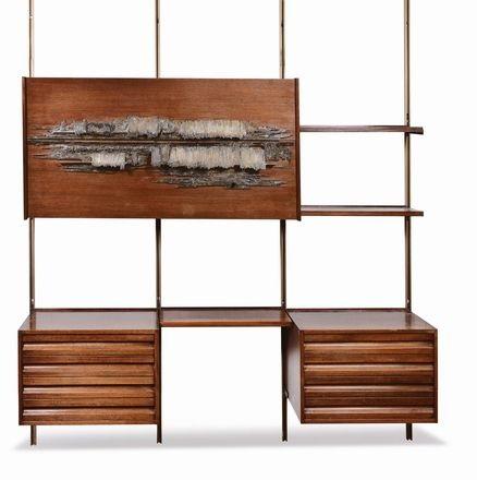 libreria modello e22 by arnaldo pomodoro