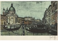 venise (by guy spitzer) by bernard buffet