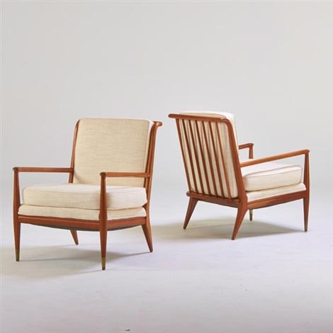 Lounge Chairs (pair) By John Stuart