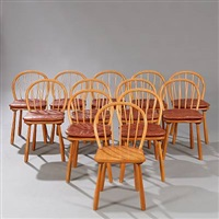 chairs (set of 12) by magnus læssoe stephensen