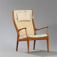 easy chair by helge vestergaard jensen