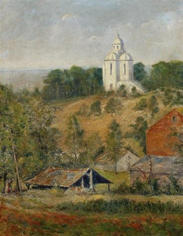 landscape hainaut province belgium by gerard ger jacobs