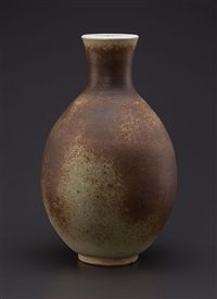 grand vase balustre à col étroit by josep llorens-artigas