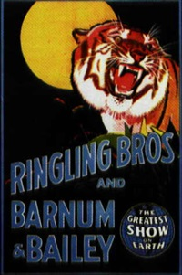 ringling bros and barnum & bailey (poster) by posters: circus