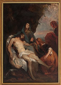 deposition of christ by sir anthony van dyck
