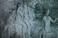 jungfrauen beim bade by bruno martini