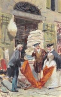 al mercato by giuseppe cassioli
