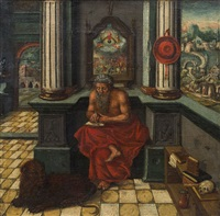 heiliger hieronymus, 16. jahrhundert by anonymous-german (16)