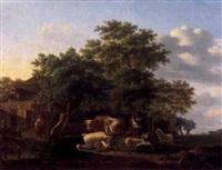 kühe, schafe und ziegen by gillis smak gregoor