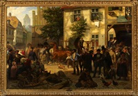 the horse market by otto weber