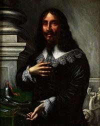 bildnis eines mannes mit weissem spitzenkragen by anonymous-flemish (17)