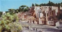 古罗马废墟三 (roman ruins iii) by luo min