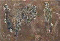 figural grouping by viktor semenov