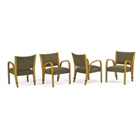amchairs and table (5 pieces) by steiner