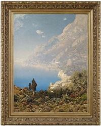 küste bei amalfi by edmund berninger