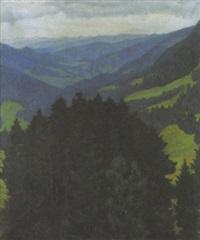blick vom semmering by isabella mikulicz-breyer