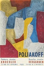 abstract composition by serge poliakoff