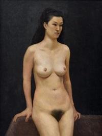 裸女 (naked women) by lin xiaochu