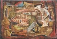 abstract composition by viktor semenov