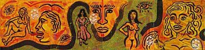 figure scenes by rama king nash