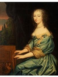 portrait einer jungen dame am cembalo by anonymous-flemish (17)