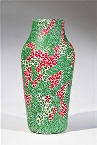 seltene vase ''kiku'' by ermanno toso