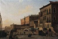 san marco plein te venezië by alexandre raulin