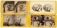 stereographs of chinese (4 works) by milton m. miller