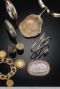 necklace and pendant set by bent gabrielsen