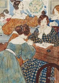 ilustration to villette by charlotte brontë by edmund dulac