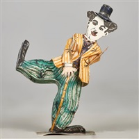 charlie chaplin by red grooms