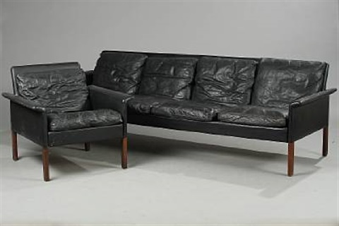 Four Seater Sofa And Easychair Model 500 4