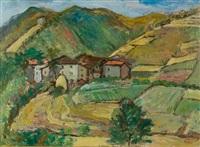 paesaggio by m. bucci