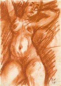 weiblicher akt by rudolf wacker