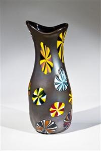 vase ''nerox stellato'' by pollio perelda