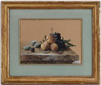 nature morte aux fruits by arthur chaplin