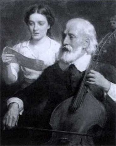 two musical figures by seymour joseph guy