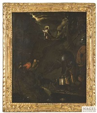 verklärung christi by francesco bassano the younger