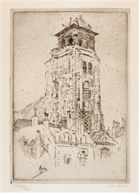 st. germain-des-pres, paris by john marin