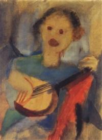 charlotte niemann mit banjo by rudolf kortokraks