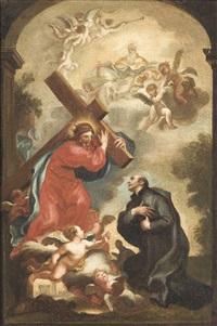 the vision of saint ignatius of loyola by domenico piola