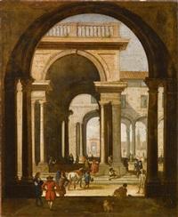 architekturcapriccio by niccolò codazzi