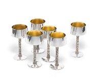 goblets (set of 6) by christopher lawrence