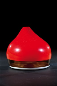 seltene und bedeutende vase ''capello del doge'' by thomas stearns