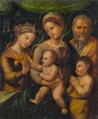mystische vermählung der hl. katharina by innocenzo di pietro (da imola) francucci